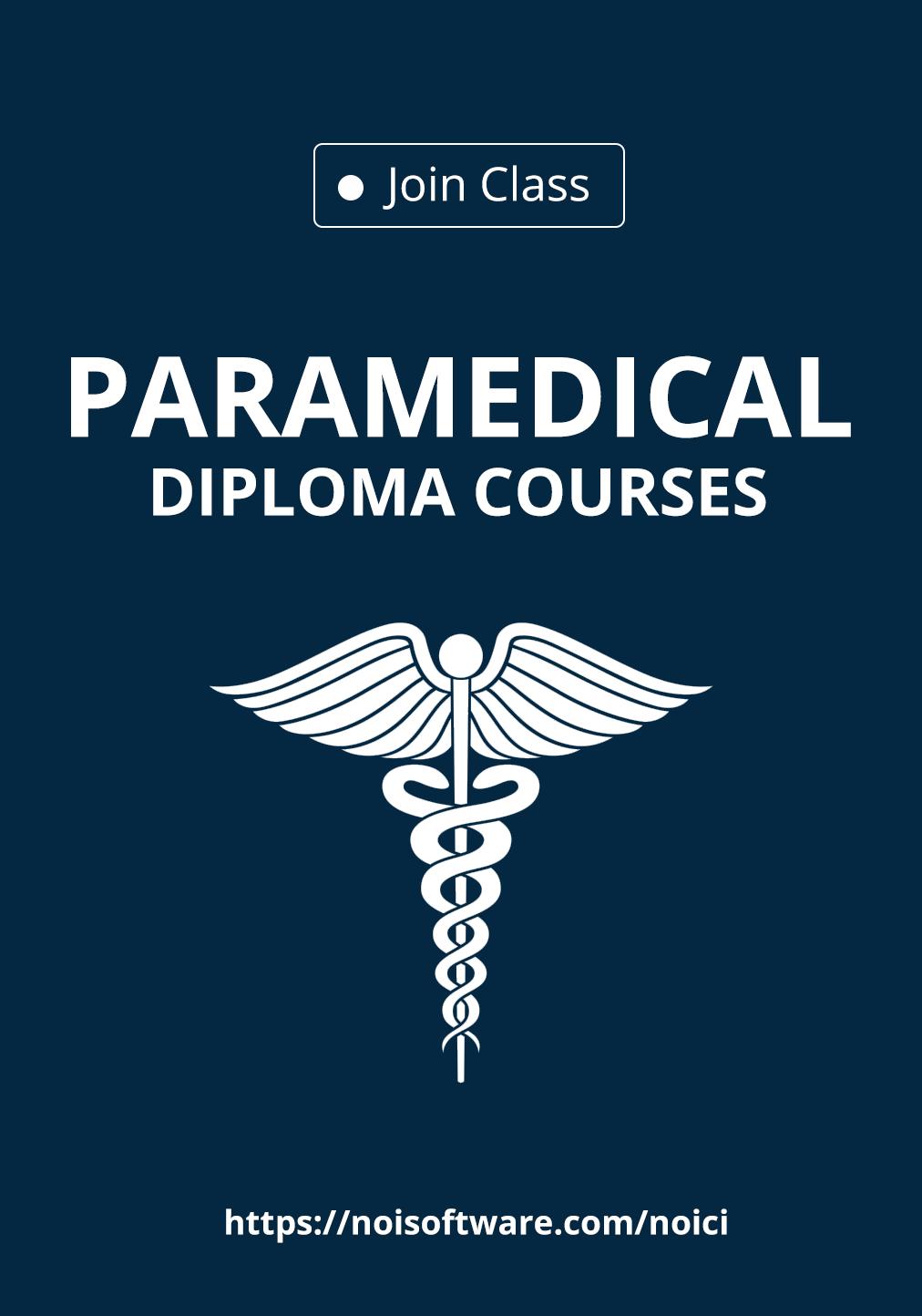 Paramedical Diploma Course